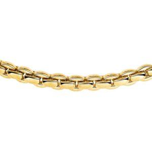 14 krt bicolor gouden Collier choker 5