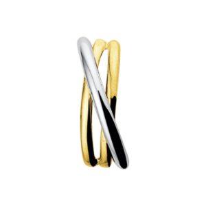 14 krt bicolor gouden Hanger model. 4204718