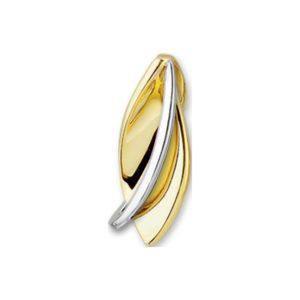 14 krt bicolor gouden Hanger model. 4205243