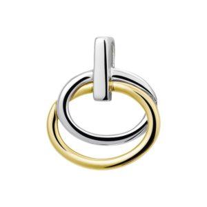 14 krt bicolor gouden Hanger model. 4205250