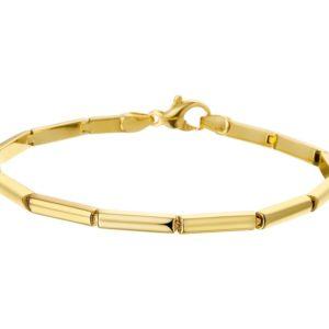 14 krt geelgouden Armband 4