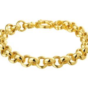 14 krt geelgouden Armband Jasseron