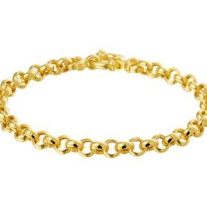 14 krt geelgouden Armband Jasseron 5