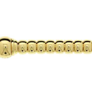 14 krt geelgouden Armband choker 12 mm 19 cm model. 4017372