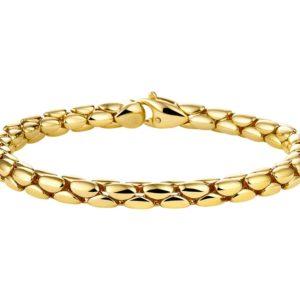 14 krt geelgouden Armband choker 5