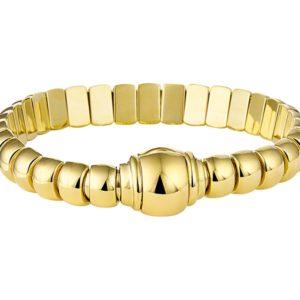 14 krt geelgouden Armband choker 9 mm 19 cm model. 4017370