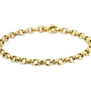 14 krt geelgouden Armband jasseron 4