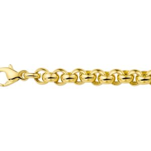 14 krt geelgouden Armband jasseron 6