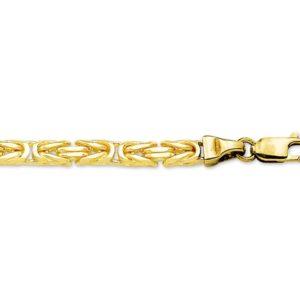 14 krt geelgouden Armband konings 4