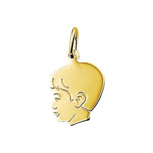 14 krt geelgouden Bedel jongen model. 4005859