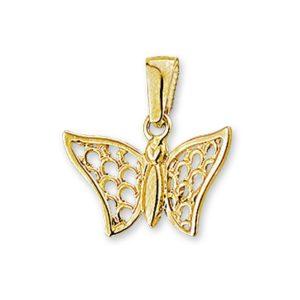 14 krt geelgouden Bedel vlinder model. 4008823