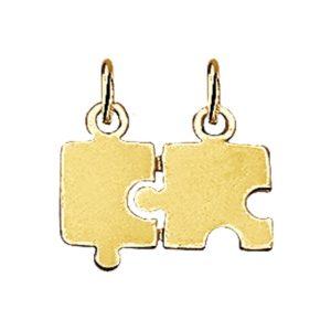 14 krt geelgouden Breekplaatjes puzzel model. 4007409