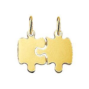 14 krt geelgouden Breekplaatjes puzzel model. 4013222