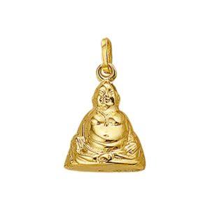 14 krt geelgouden Hanger Boeddha model. 4001633