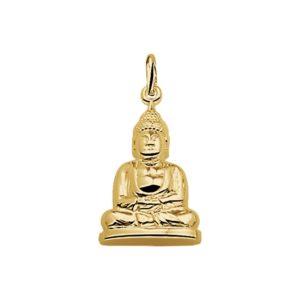 14 krt geelgouden Hanger Boeddha model. 4009233