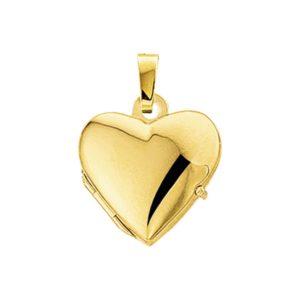 14 krt geelgouden Medaillon hart model. 4005743