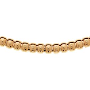 14 krt roségouden Collier choker 9 mm 45 cm model. 4400611