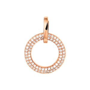 14 krt roségouden Hanger diamant 0.25 ct. model. 4400371