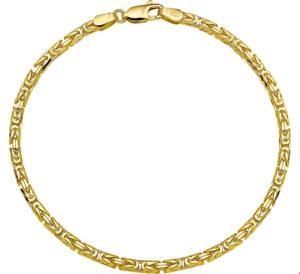 14 krt geelgouden heren armband konings 2